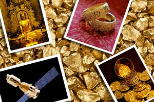 انواع کاربرد طلا چیست