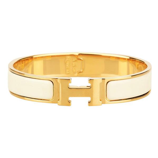 دستبند طلای هرمس click clack