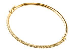 دستبند طلا زنانه بدون نگین