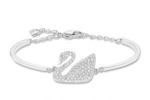 دستبند طلا سواروسکی