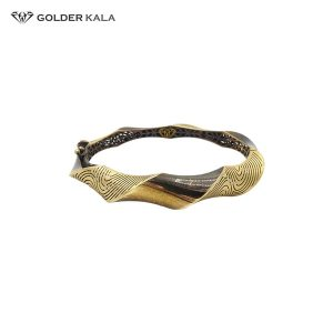دستبند النگویی طلا کد 785