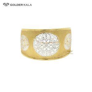 دستبند تک پوش طلا هندی کد 720