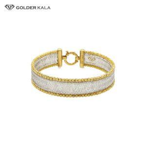دستبند تک پوش طلا کد 729