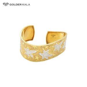 دستبند طلا با طرح ستاره کد 739