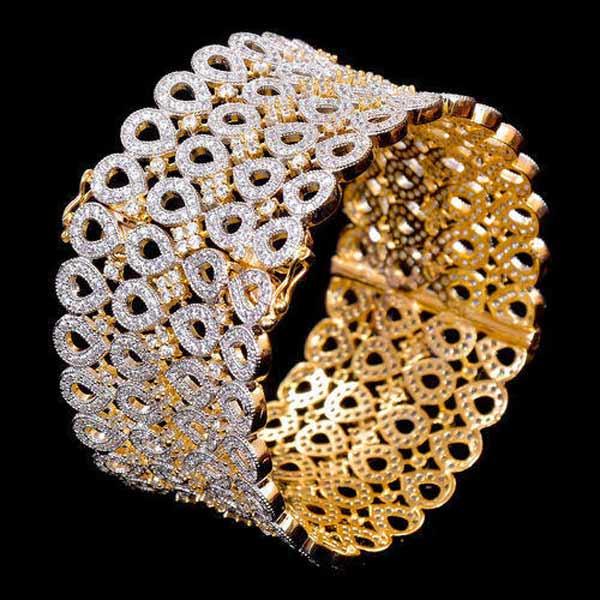 دستبند طلا تک پوش یا نقره