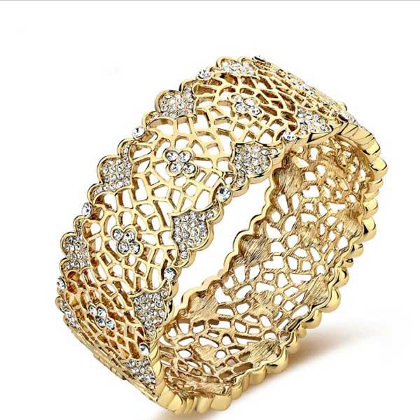دستبند طلا تک پوش