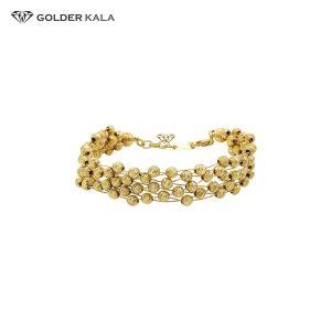 دستبند طلا زنانه فانتزی کد 798