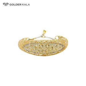 دستبند طلا طرح تک پوش کد 780