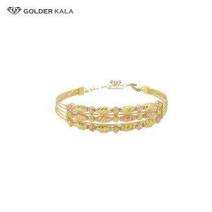 دستبند طلا قفل دار کد 802