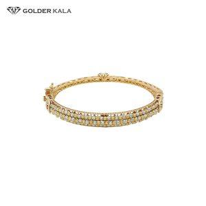 دستبند طلا نگین دار کد 790