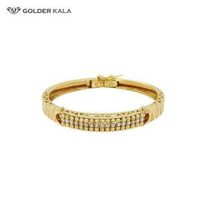 دستبند طلا النگویی کد 1411