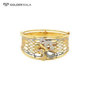 دستبند طلا تک پوش کد 1636