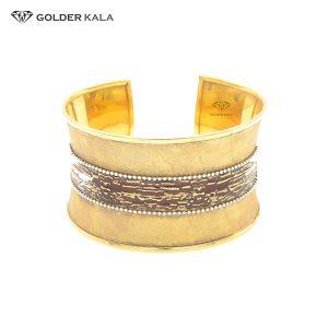 دستبند طلا تک پوش کد 1642