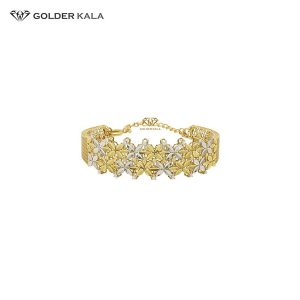 دستبند طلا زنانه النگویی کد 1412