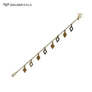 دستبند طلا زنجیری کد 1385