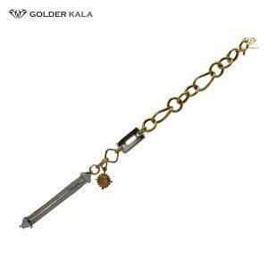 دستبند طلا زنجیری کد 1606