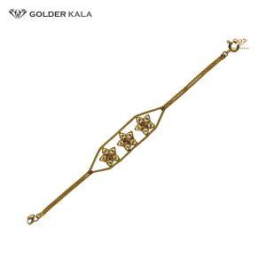 دستبند طلا طرح ستاره کد 1632