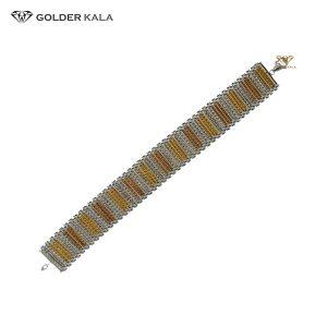 دستبند طلا پهن کد 1566