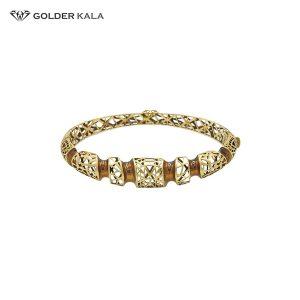 دستبند طلا کد 1398