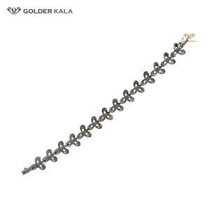 دستبند طلا طرح گل کد 1739