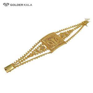 دستبند طلا زنجیری مدل 1958