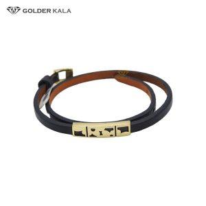 فروش دستبند طلا مردانه مدل 1937