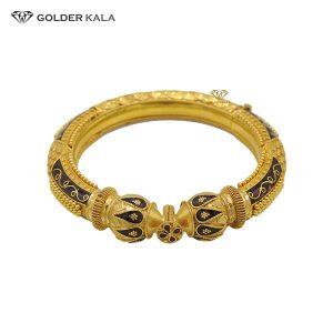دستبند طلا النگویی زنانه مدل 2005