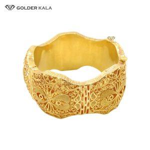 خرید دستبند پهن مدل النگویی کد 2041