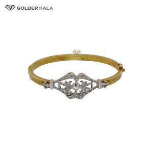 دستبند طلای النگویی مدل 2198