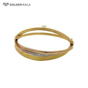 دستبند طلای النگویی مدل 2199