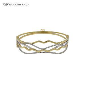 دستبند طلای النگویی مدل 2201