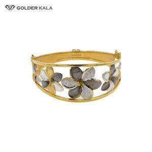 دستبند طلای پهن مدل 2192