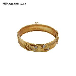 دستبند طلای پهن مدل 2193