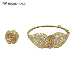 دستبند طلا زنانه مدل 2128