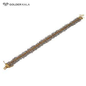 دستبند طلا طرح زنجیری مدل 2091