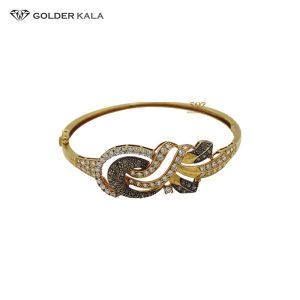 دستبند طلا نگین دار مدل 2127