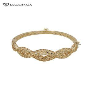 دستبند طلا النگویی مدل 2507