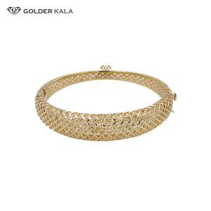 دستبند طلا پهن النگویی مدل 2469