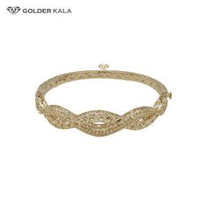 دستبند طلا النگویی مدل 2518