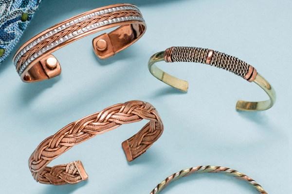 خواص و فواید جواهرات و دستبند های مسی