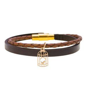 دستبند طلا قفس