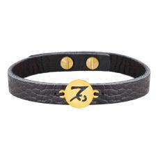 دستبند طلا نماد ماه دی