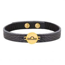 دستبند طلا نماد ماه مهر