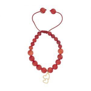 دستبند زنانه طرح قلب