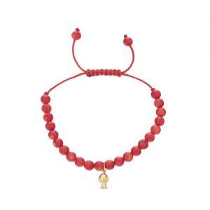 دستبند طلا 18 عیار ماهک