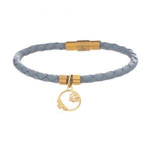 دستبند طلا 18 عیار زنانه یو گلد