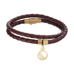 دستبند طلا 18 عیار زنانه میو گلد