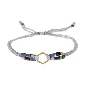 دستبند طلا 18 عیار زنانه گرامی گالری