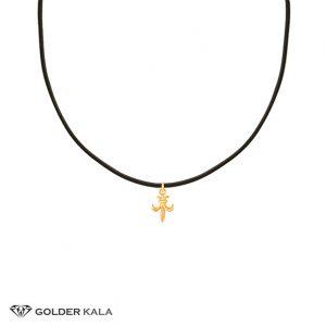 گردنبند-طلا-زنان-طرح-شمشیر