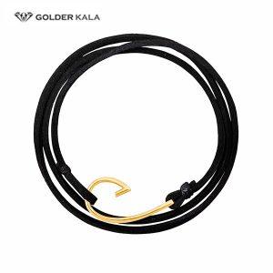 دستبند طلا طرح جدید مشکی